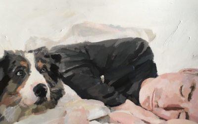 retratos pintados